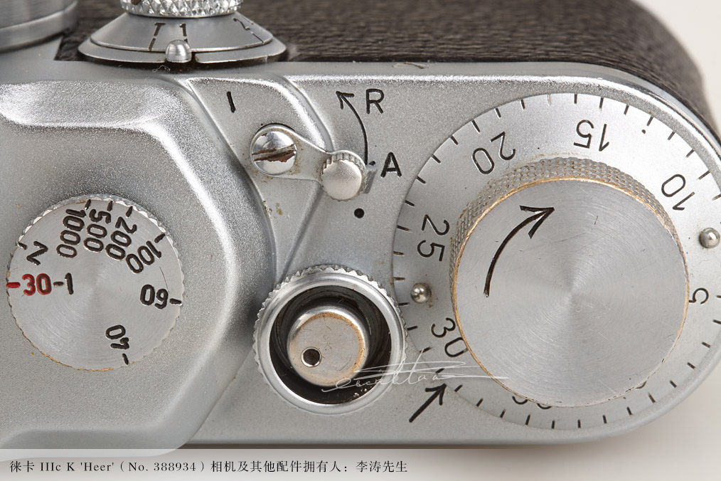 [徕卡博物馆]徕卡 IIIc K 'Heer'(No.388934)相机-行者李涛