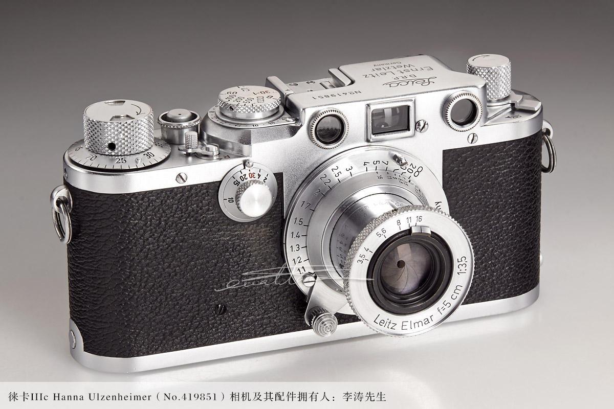 [徕卡博物馆]徕卡IIIc Hanna Ulzenheimer(No.419851)相机-行者李涛