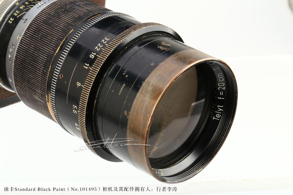 [徕卡博物馆]徕卡Standard Black Paint(No.101495)相机-行者李涛