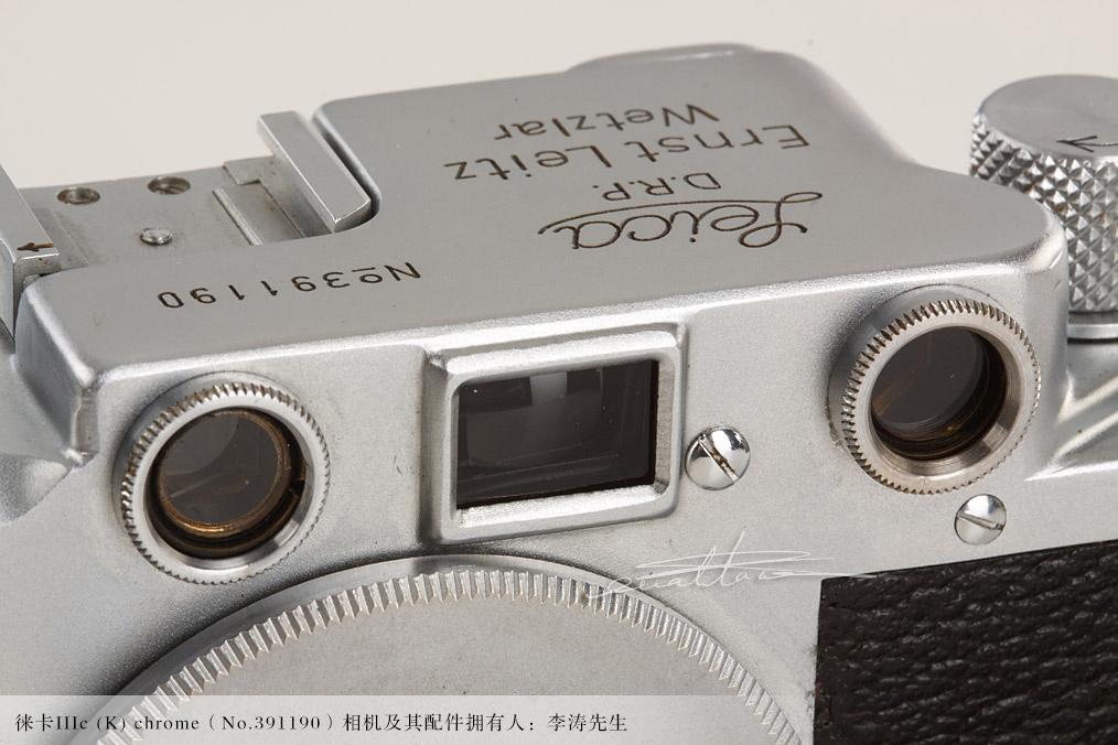 [徕卡博物馆]徕卡IIIc (K) chrome(No.391190)相机-行者李涛