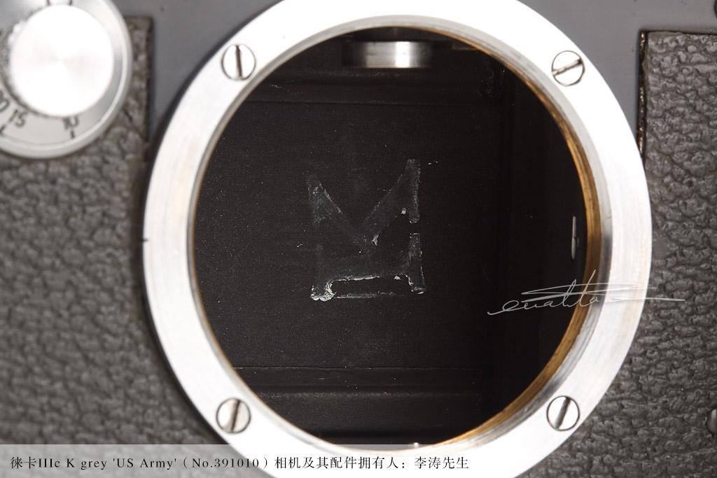 [徕卡博物馆]徕卡IIIc K grey 'US Army'(No.391010)相机-行者李涛