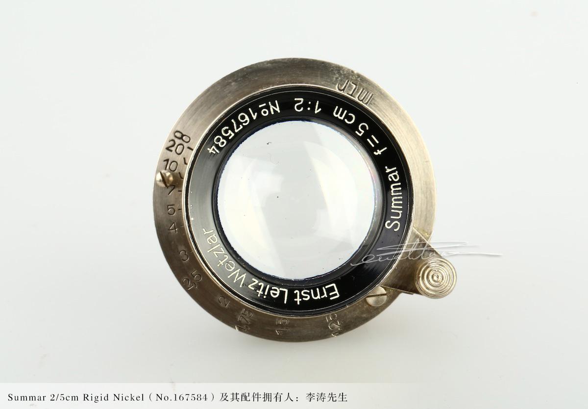 [徕卡博物馆]镜头之美Summar 2/5cm Rigid Nickel(No.167584)-行者李涛