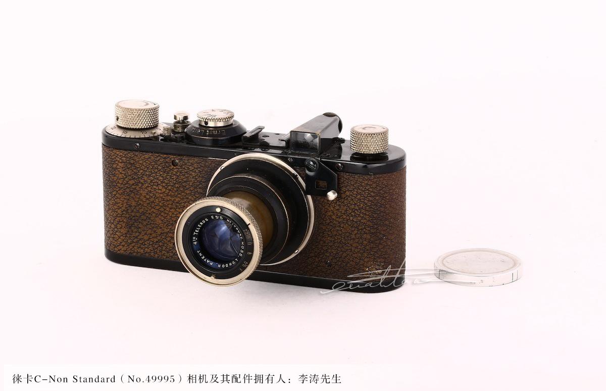 [徕卡博物馆]黑漆徕卡C-Non Standard(No.49995)相机-行者李涛
