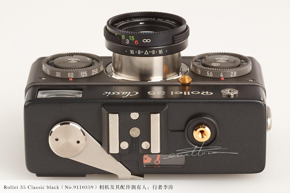 [徕卡博物馆]禄来Rollei 35 Classic black(No.9110359)-行者李涛