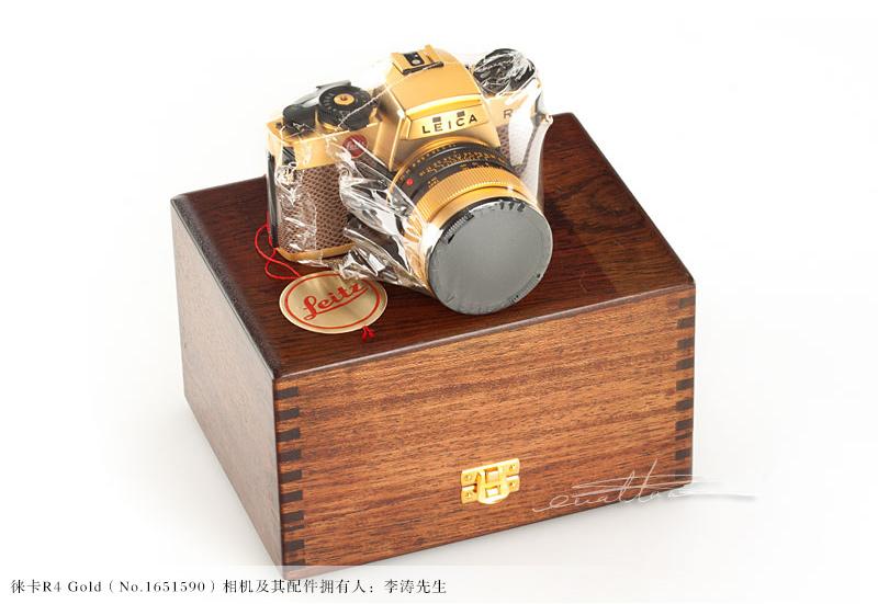 [徕卡博物馆]徕卡R4 Gold(No.1651590)相机-行者李涛