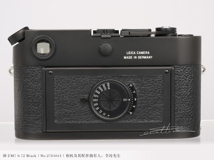 [徕卡博物馆]徕卡M7 0.72 Black(No.2784041)相机-行者李涛