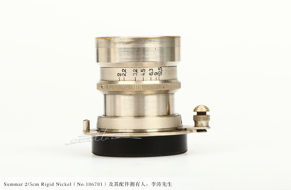 [徕卡博物馆]镜头之美Summar 2/5cm Rigid Nickel(No.186781)-行者李涛