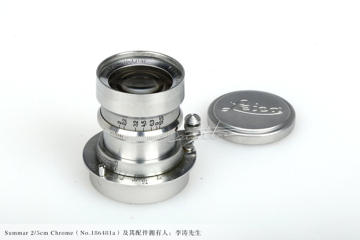 [徕卡博物馆]镜头之美Summar 2/5cm Chrome(No.186481a)-行者李涛
