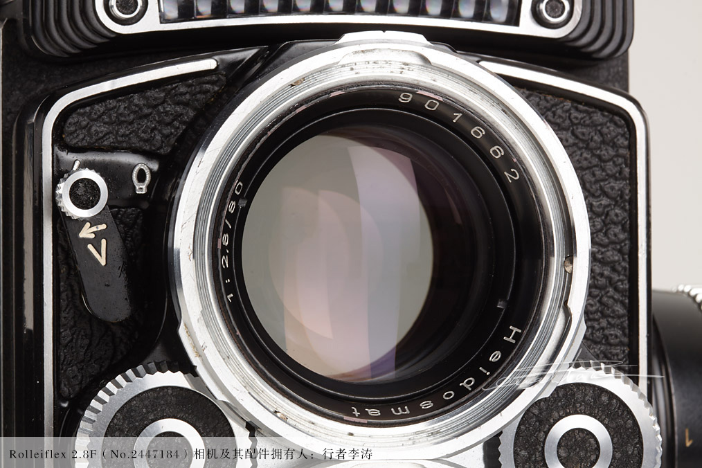 [徕卡博物馆]禄来Rolleiflex 2.8F(No.2447184)相机套装-行者李涛