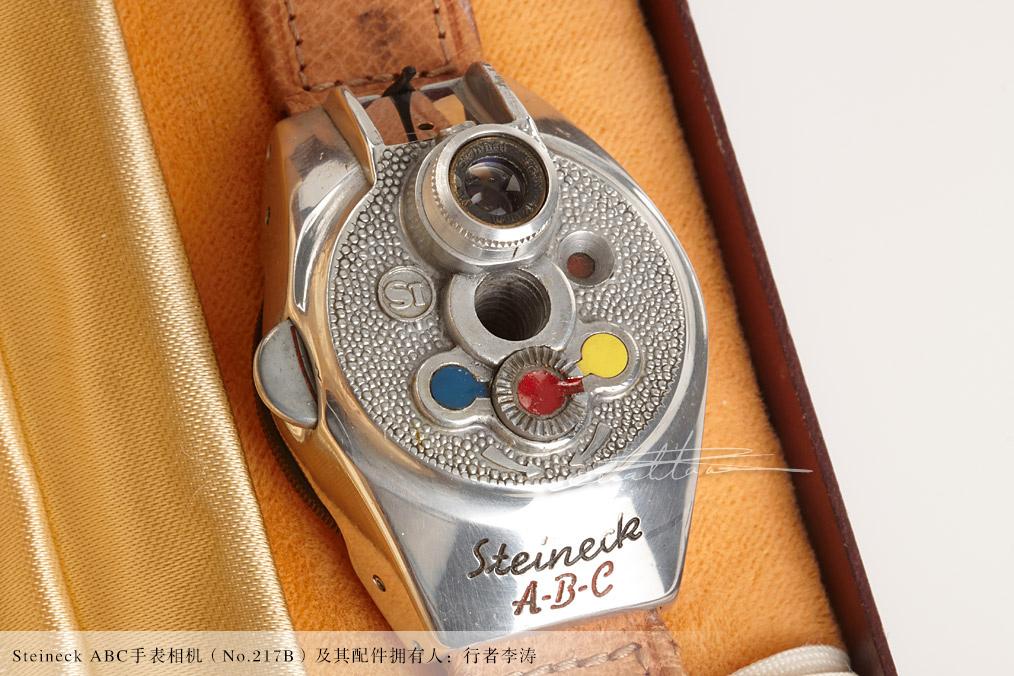 [徕卡博物馆]Steineck ABC手表相机(No.217B)-行者李涛