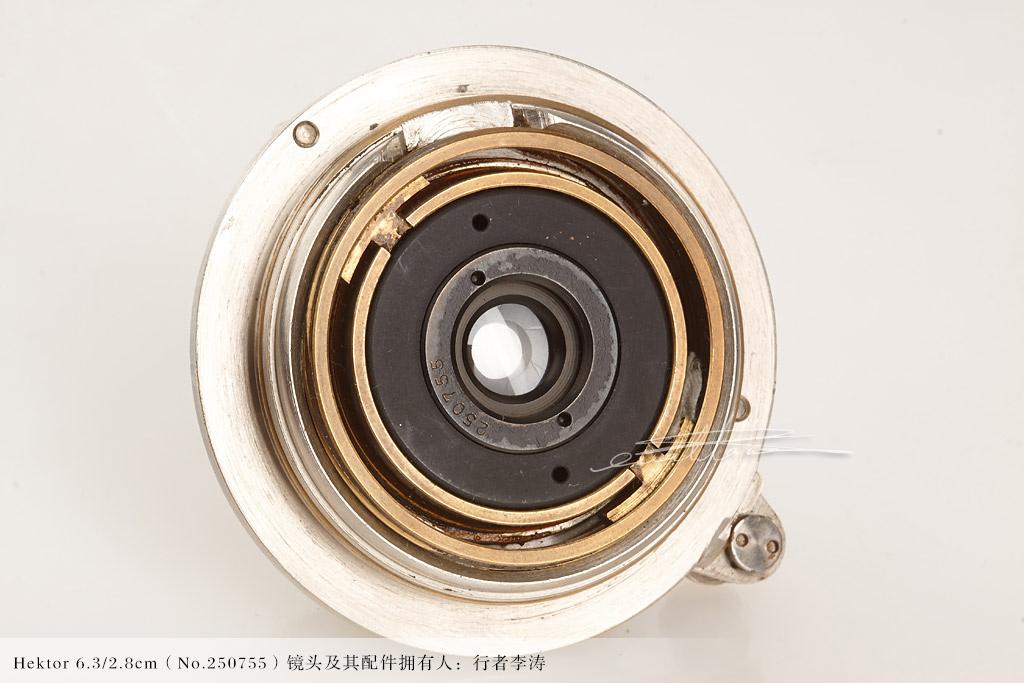 [徕卡博物馆]Hektor 6.3/2.8cm(No.250755)镜头-行者李涛
