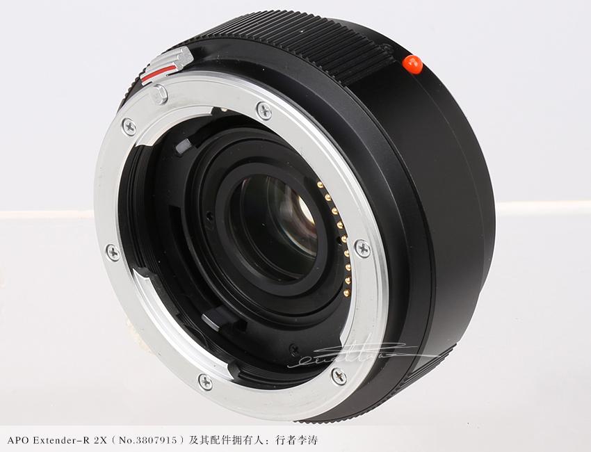 [徕卡博物馆]两倍增倍镜APO Extender-R 2X(No.3807915)-行者李涛