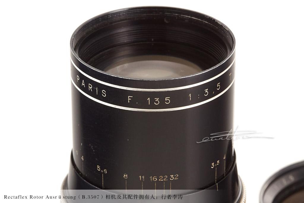 [徕卡博物馆]意大利相机Rectaflex Rotor(No.B.3507)-行者李涛
