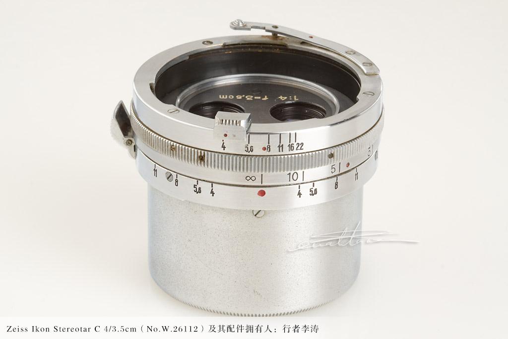 [徕卡博物馆]蔡司立体镜套装Zeiss Ikon Stereotar C 4/3.5cm(No.W.26112)-行者李涛