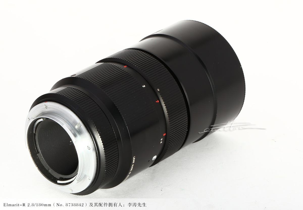 [徕卡博物馆]镜头之美Elmarit-R 2.8/180mm原型镜(No. 8738842)-行者李涛