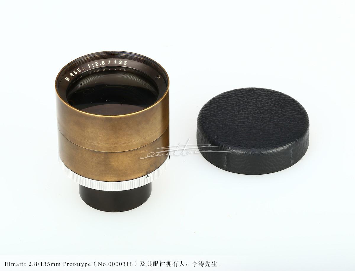 [徕卡博物馆]镜头之美Elmarit 2.8/135mm的原型镜(No.0000318)-行者李涛