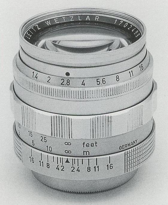 [徕卡讲堂]Summilux-SM 1.4/50mm镜头介绍-行者李涛