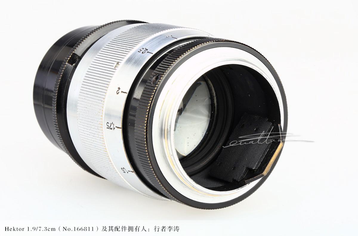 [徕卡博物馆]镜头之美Hektor 1.9/7.3cm(No.166811)-行者李涛