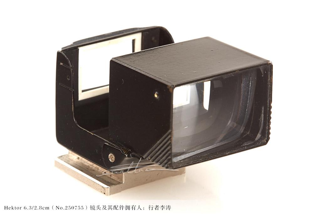 [徕卡讲堂]折叠2.8cm取景器-行者李涛