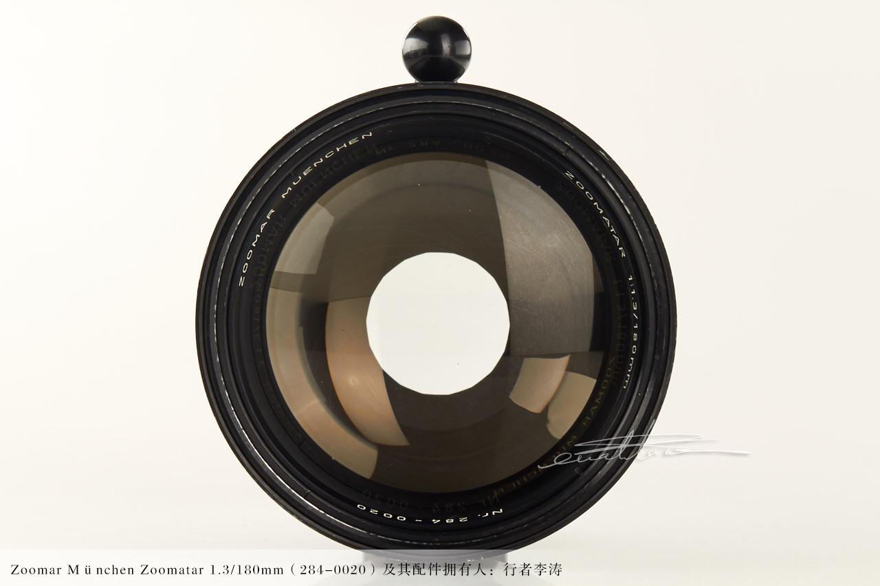 [徕卡博物馆]珍稀镜头Zoomar München Zoomatar 1.3/180mm(284-0020)-行者李涛