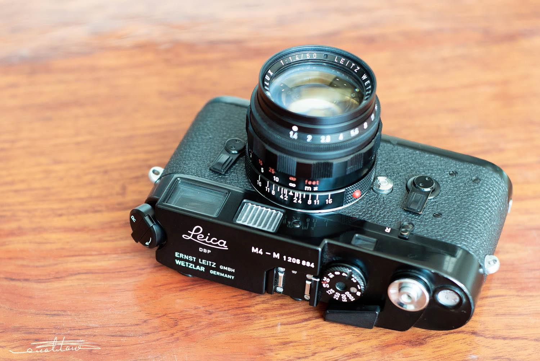 徕卡M4-M相机(No.1206884)-行者李涛