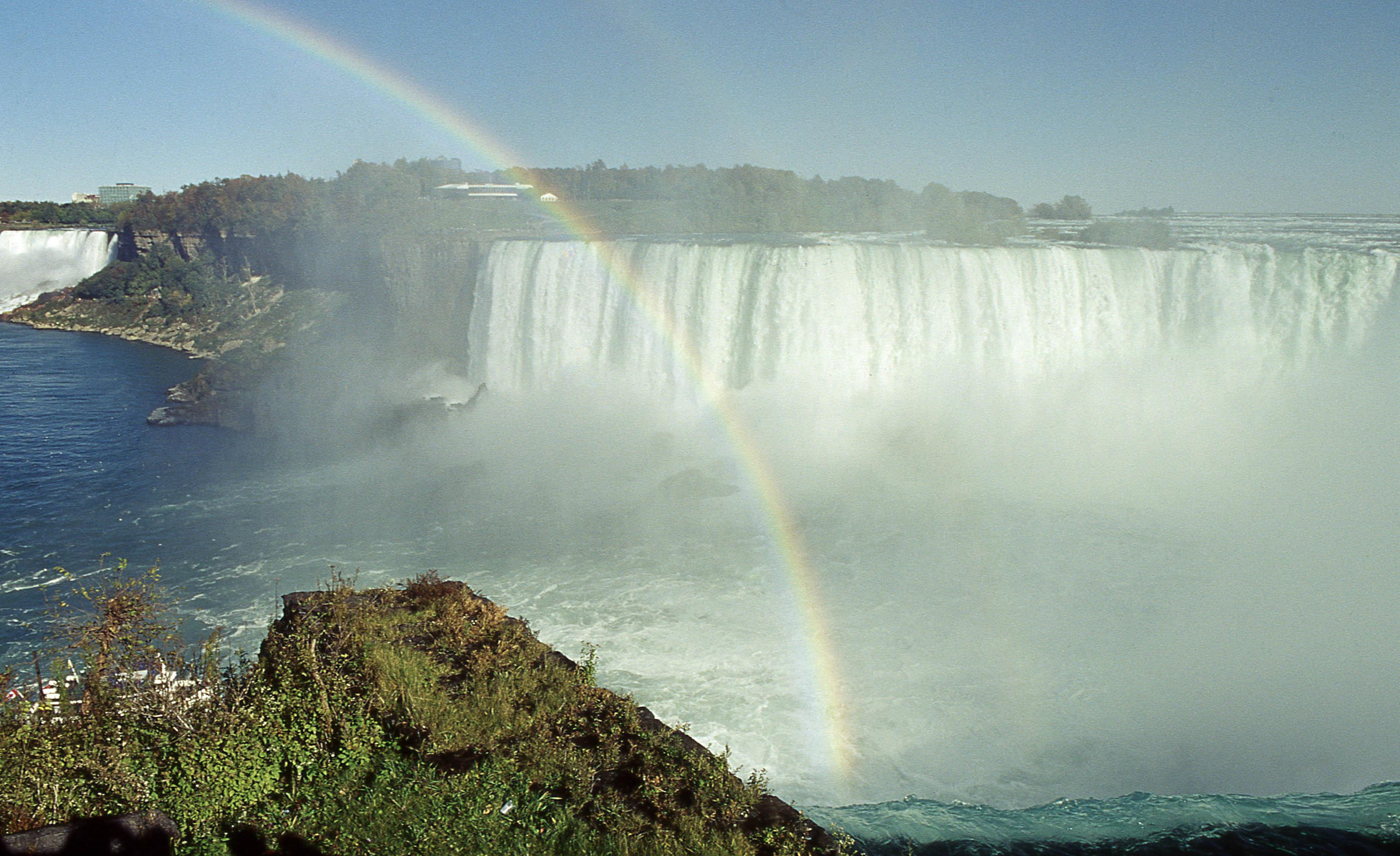 一些旧胶片,美国行旅随拍尼亚加拉瀑布-行者李涛