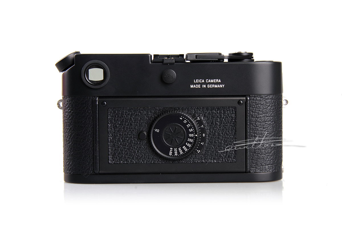 徕卡M6A Black(No.0000008)相机-行者李涛