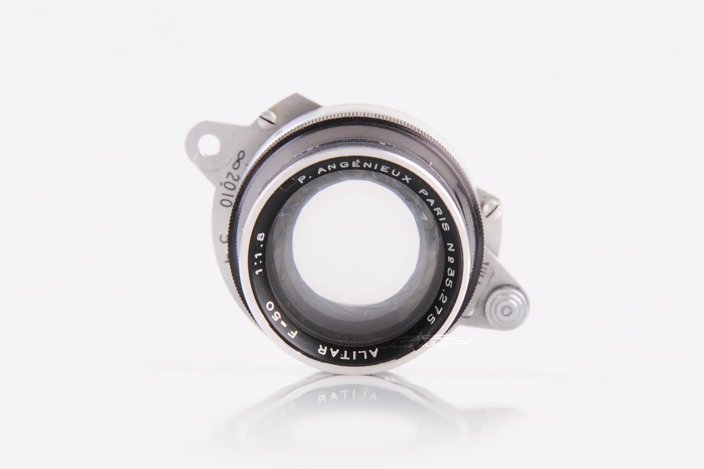 ALPA-REFLEX相机连P.Angenieux Paris ALITAR 1.8/50mm(No.35.275)-行者李涛